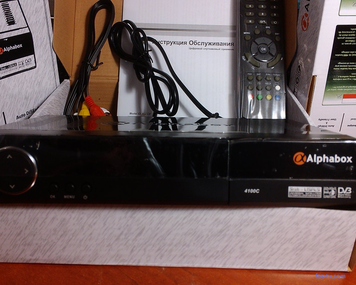 Спутниковый ресивер Alphabox 4100С Фастов